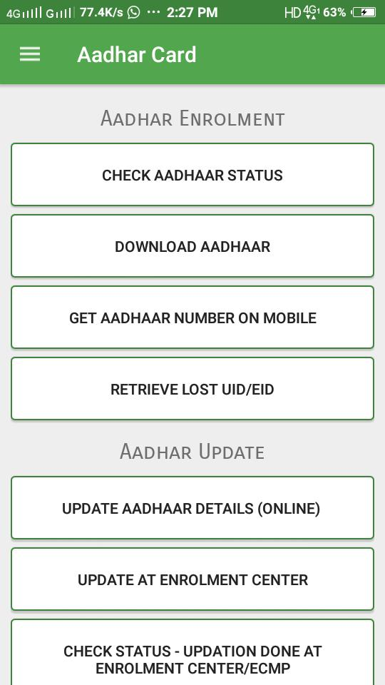 Aadhar Card for Android - APK Download