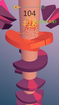 Helix Bounce Space screenshot 1