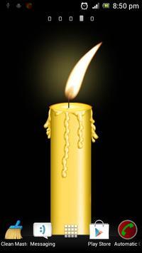 Candle Flame Live Wallpaper screenshot 1