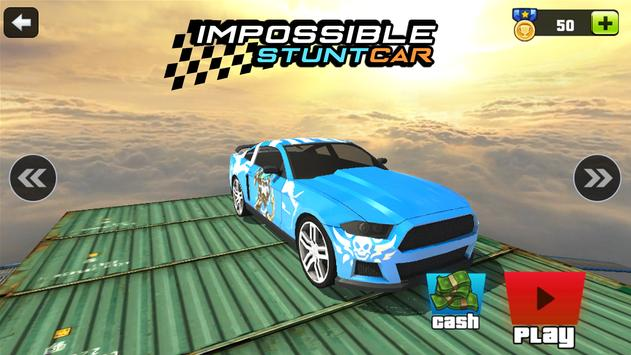 Extreme Impossible Stunt Car Tracks : Master screenshot 6