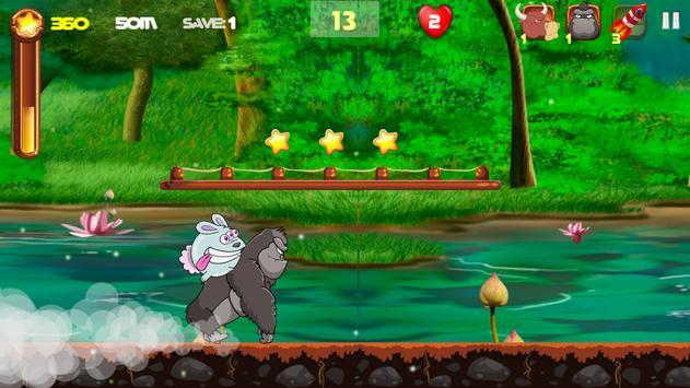 Crazy Alien Rabbit screenshot 2