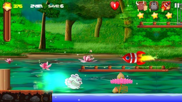 Crazy Alien Rabbit screenshot 4
