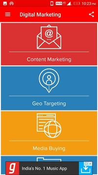 Learn SEO, SMO, PPC and DigiTal MarKeting poster