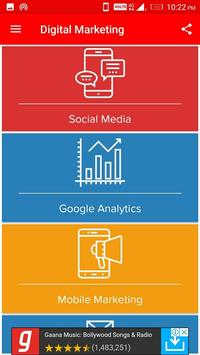 Learn SEO, SMO, PPC and DigiTal MarKeting screenshot 1