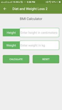 Diet Plan for Weight Loss apk screenshot