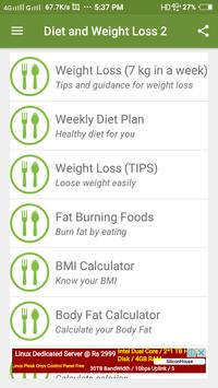 Diet Plan for Weight Loss poster
