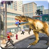 Crazy Dino Zoo Escape icon