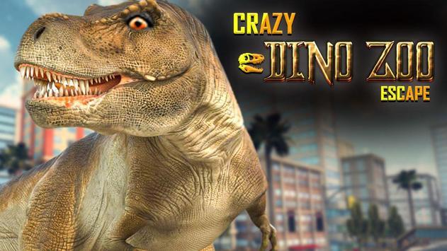 Crazy Dino Zoo Escape poster