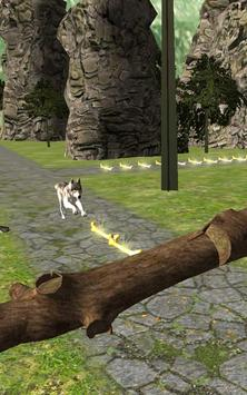 Dog Run Adventure Stunt Racing Simulator 3D 2017 screenshot 4