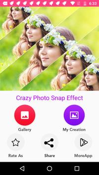 Crazy Snap Photo Effect poster