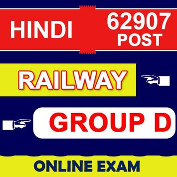 Railway Group D in Hindi poster