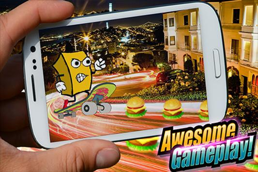 Super sponge skate apk screenshot