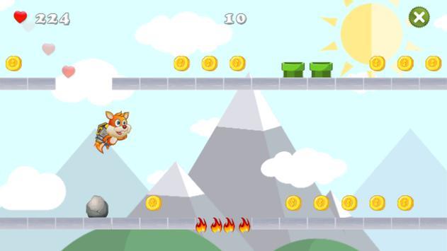 Crazy Squirrel Run screenshot 2