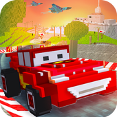 American Blocky Street Race icon