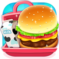 Burger Maker: School Lunch Box
