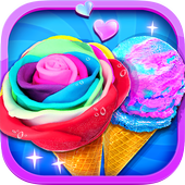 Nhà máy kem Unicorn Sundae Maker on pc
