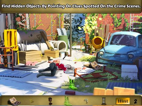 crime scene criminal detective poster