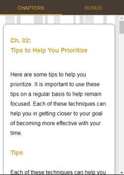 Productive Lifestyle screenshot 3