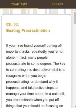 Productive Lifestyle screenshot 4
