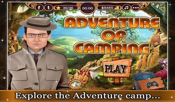 Adventure of Camping - Puzzle poster