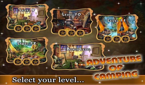Adventure of Camping - Puzzle screenshot 1