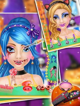 Halloween Makeover Salon Girls screenshot 3