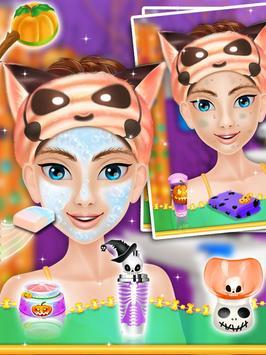 Halloween Makeover Salon Girls screenshot 12