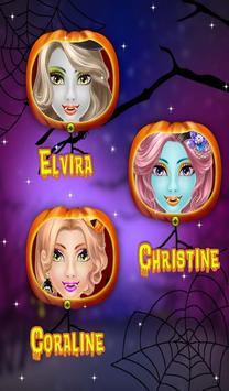 Halloween Makeover Salon Girls screenshot 1
