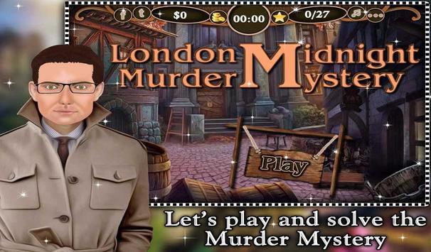 London Midnight Murder Mystery apk screenshot