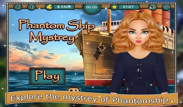 Phantom Ship Mystery Puzzle poster