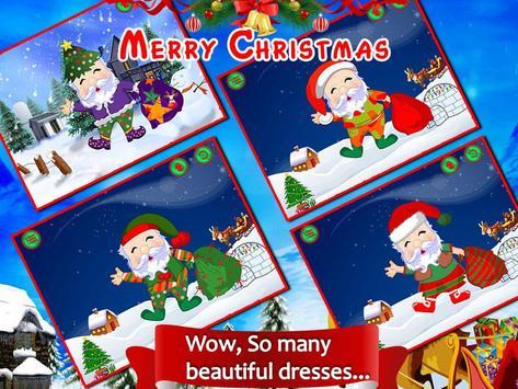 Santa Dressup Mania for Kids apk screenshot