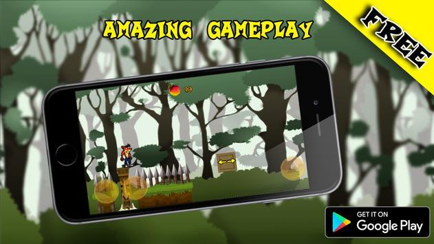 Crazy Crash Fox Bandicoot Adventure Jungle 2017 apk screenshot