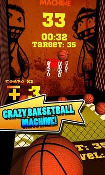 Crazy Basketball Machine poster
