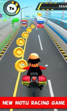 Police Motu Racing Game poster