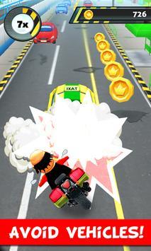Police Motu Racing Game screenshot 1