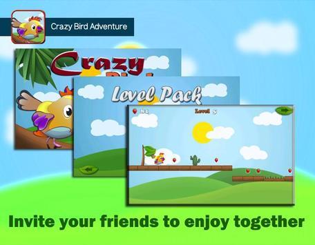 Crazy Bird Adventure screenshot 3