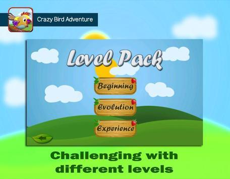 Crazy Bird Adventure screenshot 1