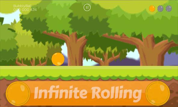 Infinite Runner: Bubbly Ball Sting 2d screenshot 3
