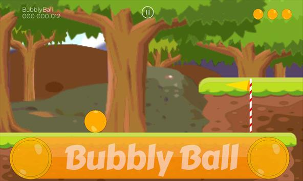Infinite Runner: Bubbly Ball Sting 2d screenshot 5