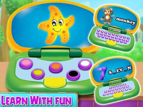 Kids Funny laptop Learning- Preschool Computer screenshot 10