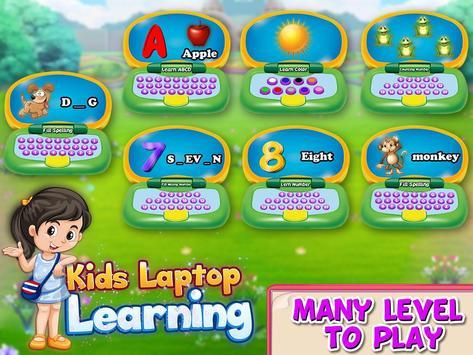 Kids Funny laptop Learning- Preschool Computer screenshot 12