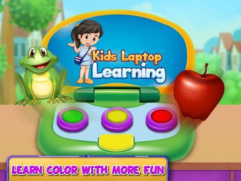 Kids Funny laptop Learning- Preschool Computer screenshot 14