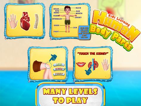 Kids human body parts learning game for android apk download kids human body parts learning game screenshot 13 ccuart Gallery