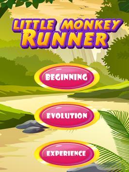 Little Monkey Runner screenshot 2