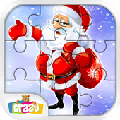 Santa Claus Jigsaw Puzzle Game: Christmas 2017 icon