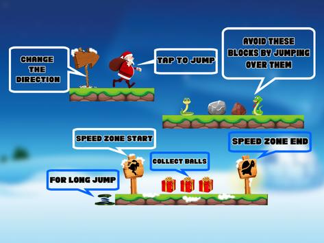 Xmas Santa Claus Runner Adventure apk screenshot