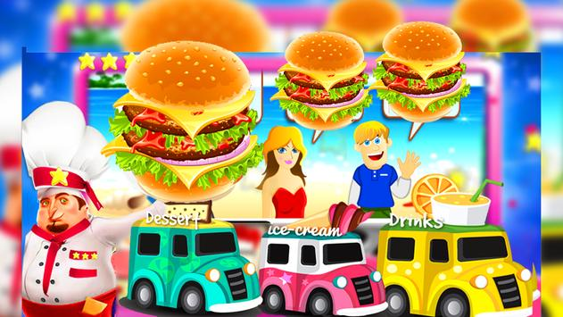 Food Truck Overcooked! Cooking Game poster