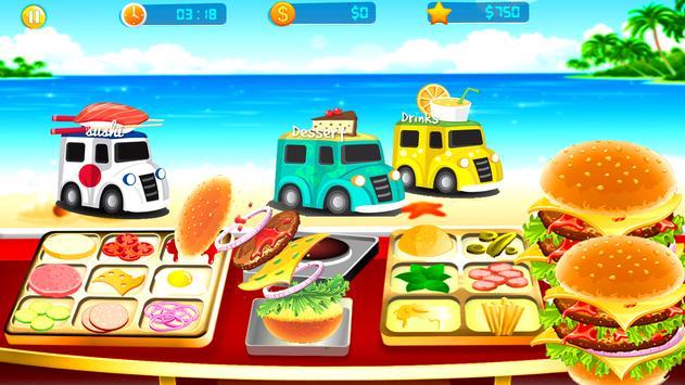 Food Truck Overcooked! Cooking Game screenshot 5
