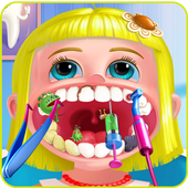 Crazy dentist game anna icon