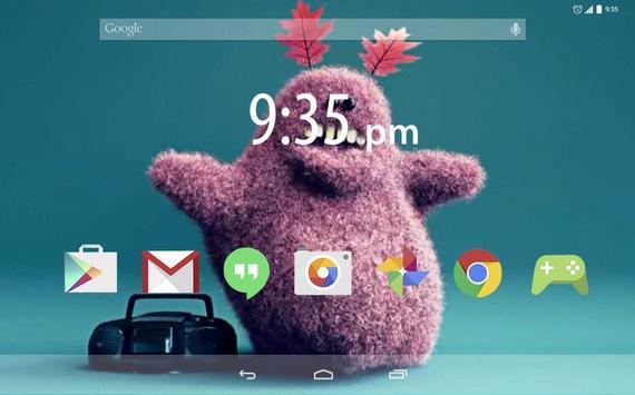 Plush Bunny dancLive Wallpaper apk screenshot